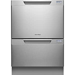 "Fisher Paykel DD24DCHTX7 DishDrawer Tall 24"" Stainless Steel Semi-Integrated Dishwasher - Energy Star"
