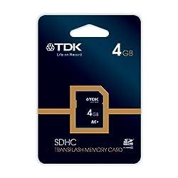 TDK 4GB Class 4 SDHC Travelcard