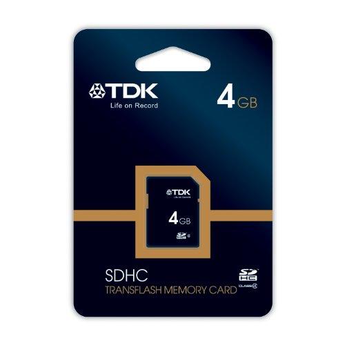 TDK - TRAVELCARD - CARTE MÉMOIRE SDHC - CLASS 4 - 4 GO