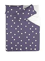 PIERRE CARDIN Juego De Funda Nórdica Kioto Percale (Violeta)