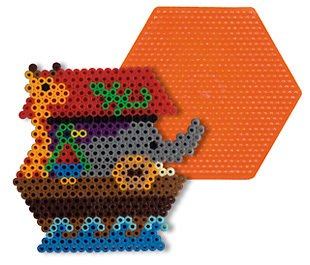 Large Hexagon Pegboard for Perler Fuse Beads