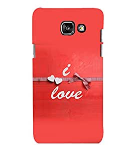 printtech Love Quotes Back Case Cover for Samsung Galaxy A3 2016 Edition