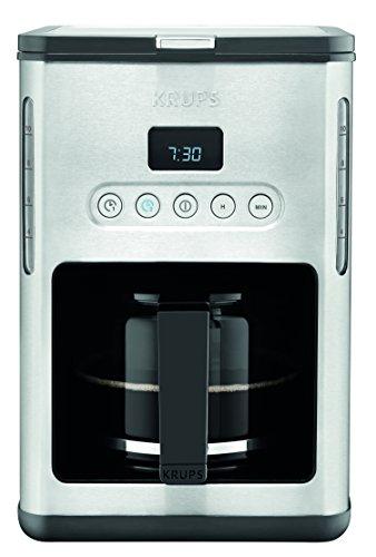 Krups Km1000 Coffee Maker Programmable 10 Cup : Krups KM442D Control Line Programmable Coffee Maker Stainless Steel 10 Cup eBay