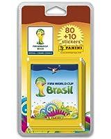 80 stickers + 10 offerts Coupe du Monde 2014