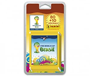 80 stickers + 10 offerts Coupe du Monde 2014