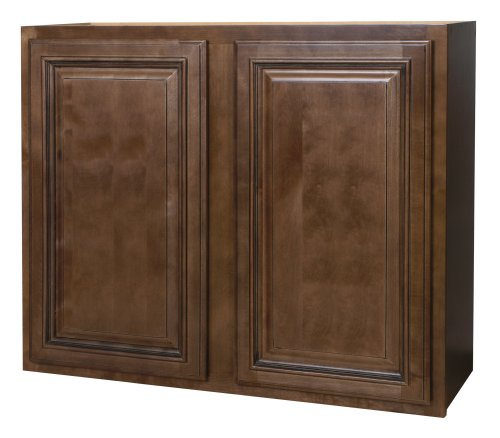 Kraftmaid kitchen cabinets all wood cabinetry w3630 hcg for Kitchen cabinets 36 high