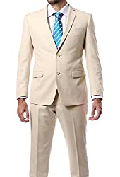 "Men's ""Ultra Soft"" Slim Fit Suit by Zonettie - Available in Many Colors"