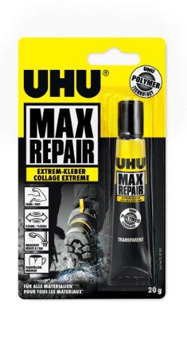Uhu 45820 Max Repair - Colla tenuta estrema, tubo 20 g