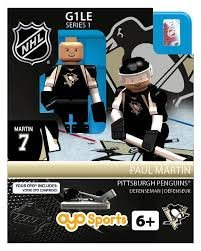 Paul Martin OYO NHL Pittsburgh Penguins G1 Series 1 Mini Figure Limited Edition