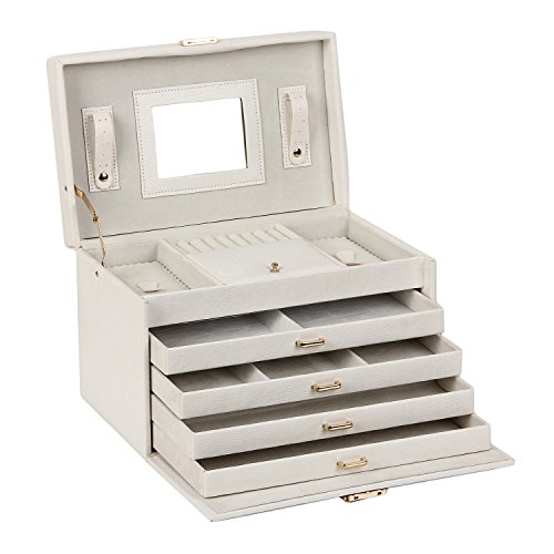 large-lovely-jewellery-box-beautify-cosmetics-case-roomy-elegant-armoire-4-drawers-white