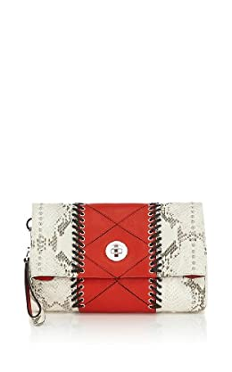 Limited Edition Snake and Tribal Pattern Clutch