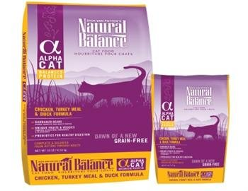 See Natural Balance Alpha Cat - Chicken, Duck & Turkey - 5 lb