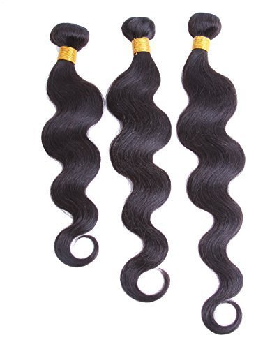 Cool2dayRemy-Human-Hair-Weft-Weave-3-Bundles-Virgin-Indian-3-Pieces-Lot-Mixed-Length-16-18-20-Body-Wave-Natural-Color-by-Cool2day