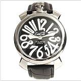 GAGA MILANO [ガガミラノ] 腕時計 マヌアーレ 40mm ブラック