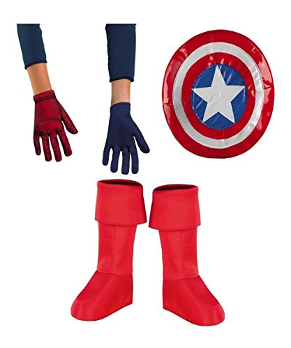 Captain America Superhero Squad Boys Accessory Kit