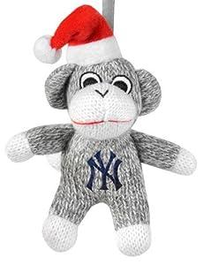 York Yankees MLB 2013 Sock Monkey Stuffed Christmas Ornament at 'Sock Monkeys'