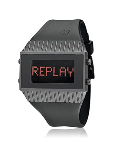 Replay Reloj de cuarzo Rd7102Nnd Negro 42 mm