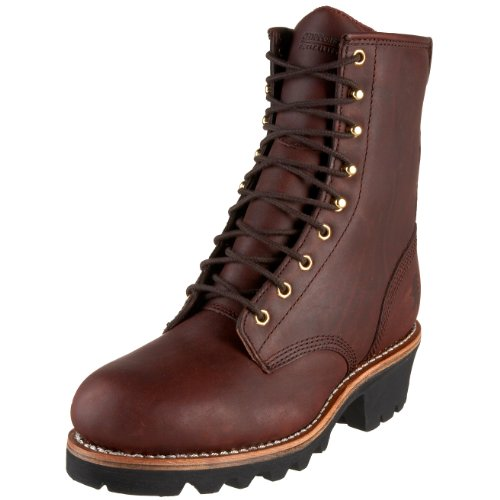 "Chippewa Men's 73030 8"" Logger Boot,Redwood,10.5 XW US"