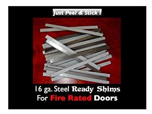 Ready Shims For Commercial Fire Doors Pack Of 100 Door