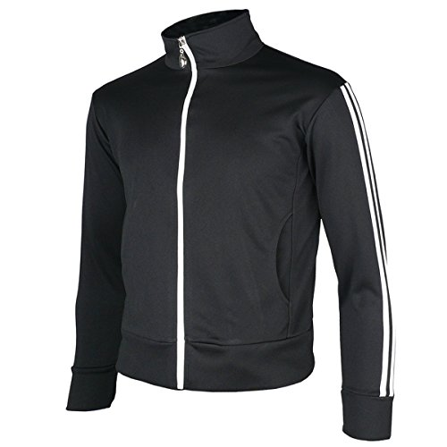 myglory77mall-Mens-Running-Jogging-Track-Suit-Warm-Up-Jacket-Gym-Training-Wear