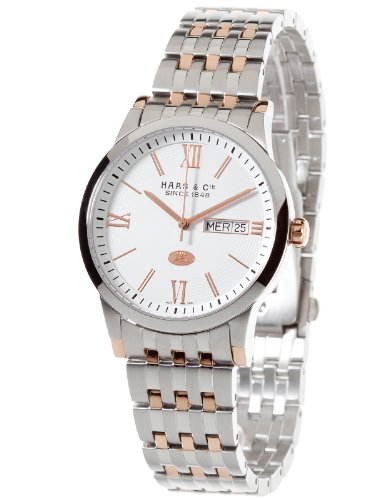 Haas  &  Cie Linus Men's Watch Rose Gold/Bicolor Watch ALH396OWA