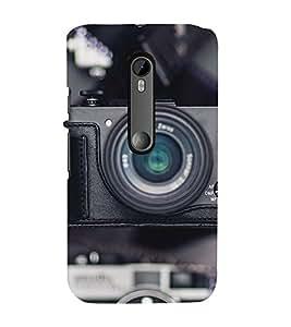 99Sublimation Camera 3D Hard Polycarbonate Back Case Cover for Motorola Moto G3 :: G 3rd Gen :: G Dual SIM 3rd Gen