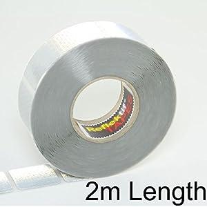 2m White Reflektif® Reflective Curtain Grade Tape (ECE 104) - Segmented Style