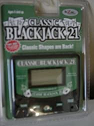 Classic Blackjack 21 Handheld Game