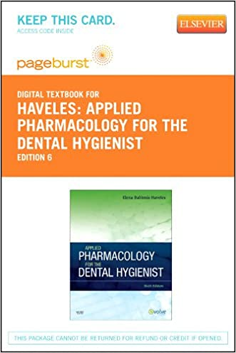 Applied Pharmacology for the Dental Hygienist - Elsevier eBook on VitalSource (Retail Access Card), 6e