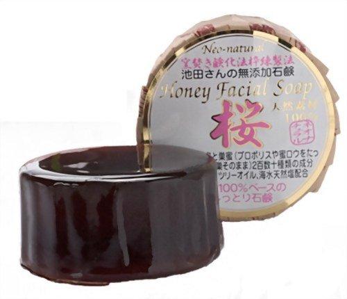 ネオナチュラル 池田さんのハニーフェイシャルソープ 桜 80g