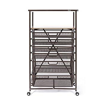 Origami CC6-BRONZE Folding Craft cart, Bronze