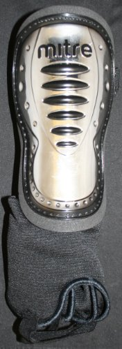 Mitre Lightweight Duo Shield Chrome Shin Guard/Protection Size SM-MED - 1