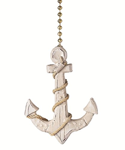 Clementine 334 Anchor Fan Pull (Fan Pulls Decorative Nautical compare prices)