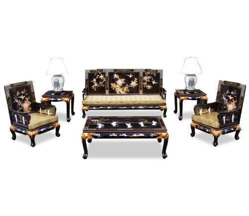 Hand Painted Grand Imperial Living Room Set (6pcs)