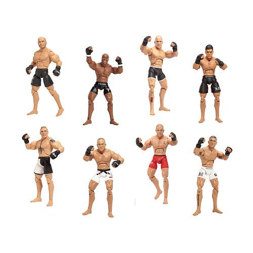 UFC Collector Series Action Figure 8 Pack with Octagon