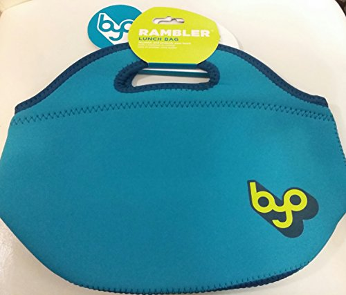 BUILT Teal Neoprene Rambler Insulated Lunch Bag by BYO