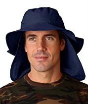 UBM101 Adams Extreme Vacationer Bucket Cap - Navy - X-Large