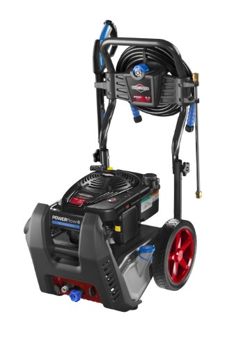Briggs & Stratton 20570 Powerflow Plus 5.0-Gpm 3000-Psi Gas Pressure Washer With 875 Series 190Cc Engine And Push Button Electric Start