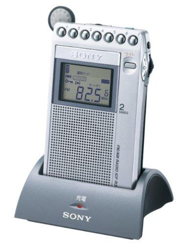 SONY FM/AM ポケッタブルラジオ R353 ICF-R353