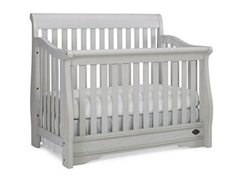 Bonavita sawyer convertible crib linen grey royalty kitchen for Bonavita nursery furniture