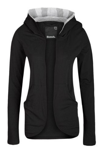 Bench Relaxer Womens Jersey Jacket - XS, Black