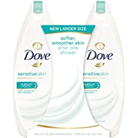 2-Count Dove Sensitive Skin Body Wash, 22 Ounce