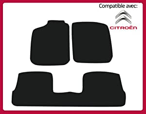 l 39 ensemble de tapis de sol pour citroen c4 i. Black Bedroom Furniture Sets. Home Design Ideas