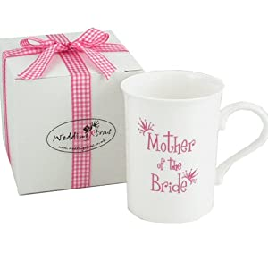 Mother of the Bride Bone China Mug & Gift Box: Amazon.co.uk: Kitchen ...