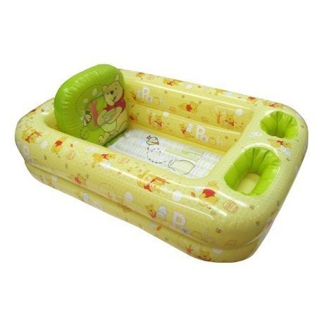 Ginsey Disney Winnie the Pooh Inflatable Safety Bathtub for Baby