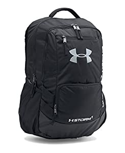 Under Armour Storm Hustle II Backpack, Black (001), One Size