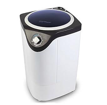 mini compact portable semi automatic washer single barrel baby clothes washing. Black Bedroom Furniture Sets. Home Design Ideas