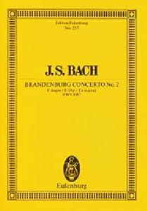 Brandenburg Concerto No 2 Bwv 1047 In F Major Miniature Score by Edition Eulenburg