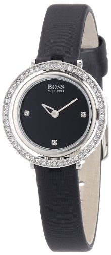 Hugo Boss Damen-Armbanduhr XS Analog Quarz Textil 1502279