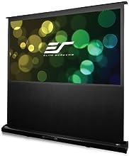 Elite Screens Kestrel Series 96-inch 2351 Portable Electric Motorized Floor-Rising Projection Projec